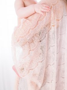 edmonton beautiful mother and baby pink lace kimono photoshoot
