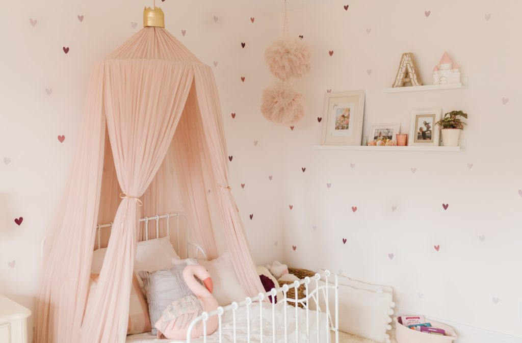little girls bedroom decor pink bedroom canopy nursery decor picture ledges pictures frames bedroom shelves