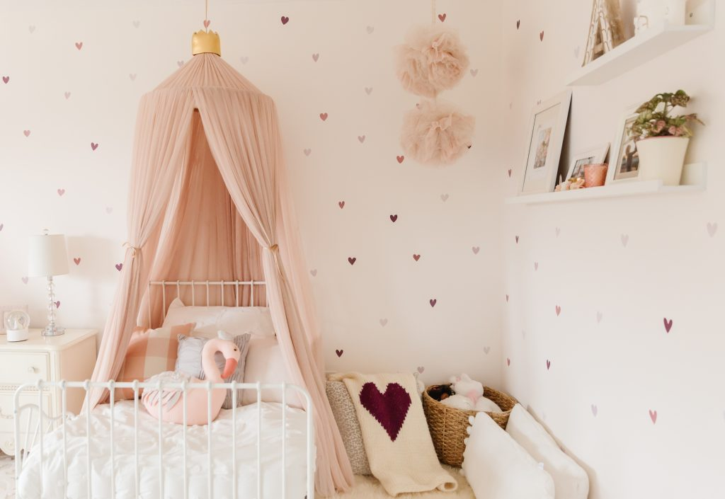 little girls bedroom decor pink bedroom canopy nursery decor reading corner