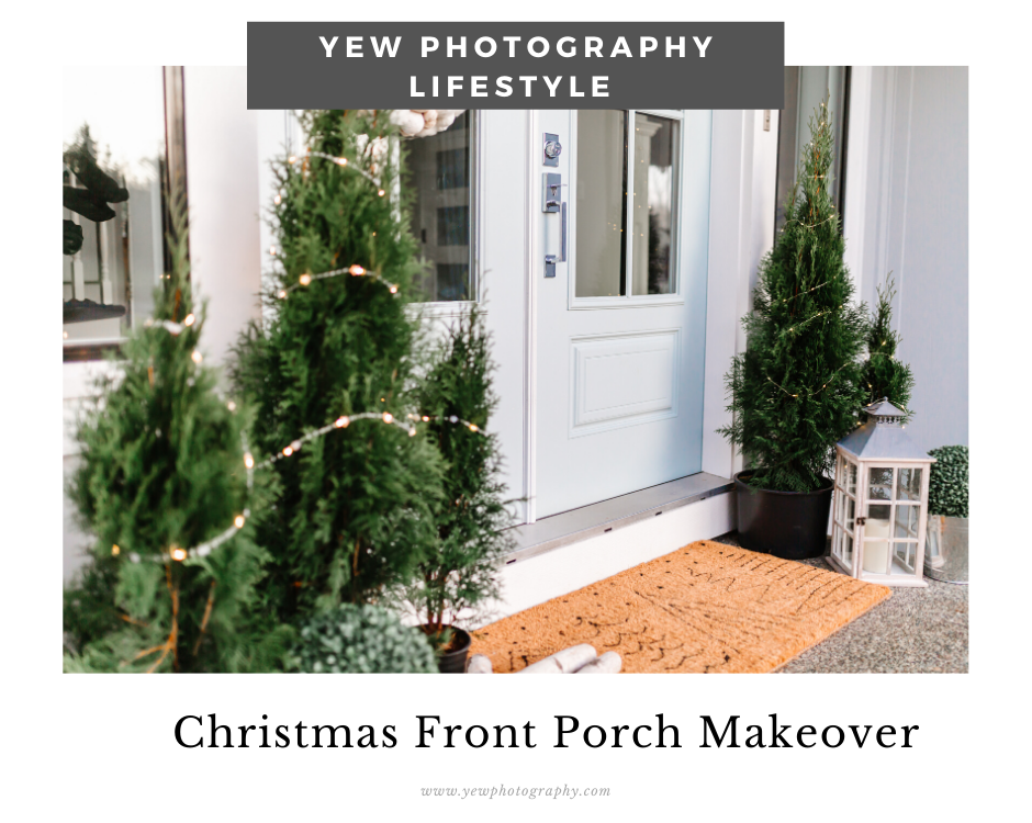My Front Door Holiday Makeover with Home Depot Canada